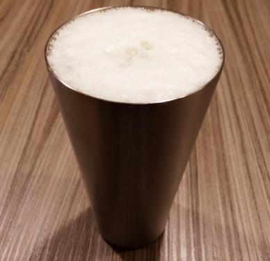 タンブラーにビール